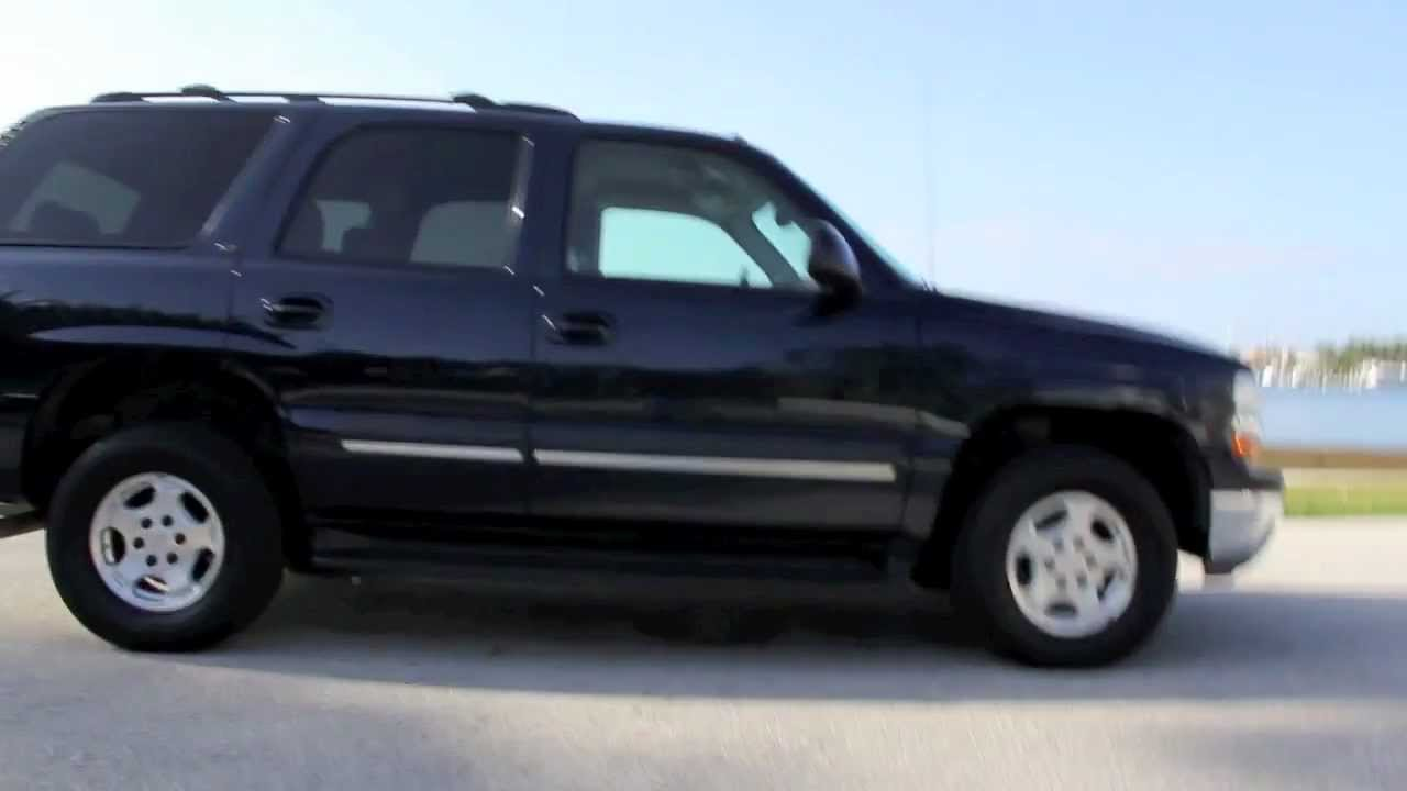 2004 chevrolet tahoe lt all wheel drive youtube. Black Bedroom Furniture Sets. Home Design Ideas
