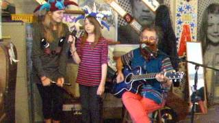 Father Abraham & The Smurfs - The Smurf Song - Acoustic Cover - Danny McEvoy (with Jazzy and Chloe)