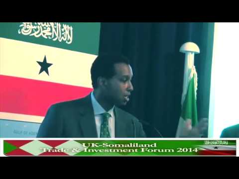 Raage Omaar's Speech at UK-Somaliland Trade & Investment Forum 2014