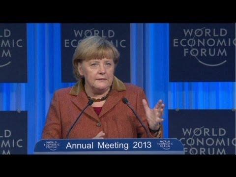 German Chancellor Angela Merkel urges EU political changes