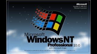 Windows NT Workstation 4.0 SP6 - Nostalgia (1996)
