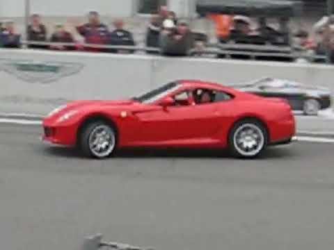 Михаель Шумахер на Ferrari 599 GTB Fiorano