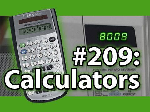 Is It A Good Idea To Microwave Calculators?