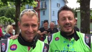52^ rally Valli Ossolane interviste a metà gara
