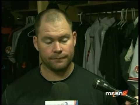 Ty Wigginton talks about his home run and error in the O's 8-2 loss Video