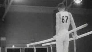 Play 1960 Olympics Gymnastics Albert Azarian High Bar