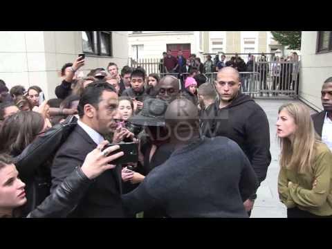 EXCLUSIVE - Vanessa Hudgens arrival at Fan2 in Paris