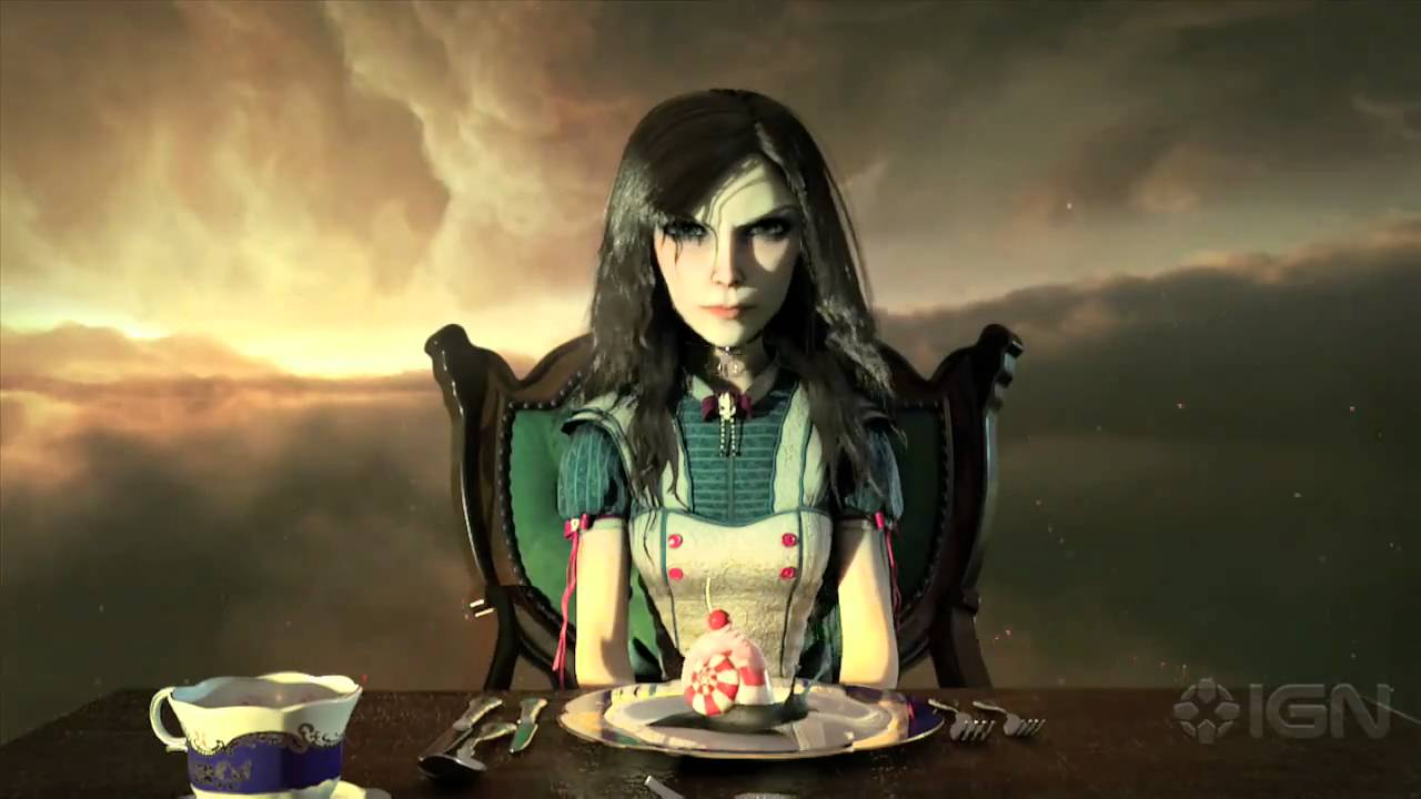 Alice madness returns nud patch ps sexy scene