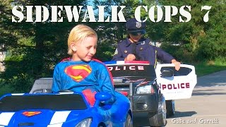 Sidewalk Cops 7 - Texting Superman!