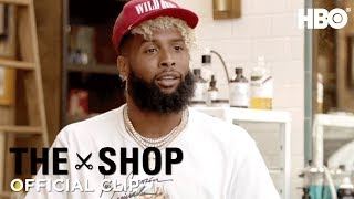 'Odell Beckham Jr. on Being in the Spotlight' Official Clip | The Shop | HBO
