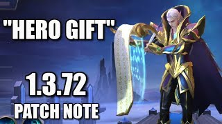 YOU CAN NOW GIFT HEROES!!! NEW PATCH NOTE 1.3.72