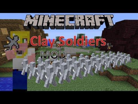 Minecraft 1.5.2 Mody Clay Soldiers Mod Historia małych bohaterów + Instalacja