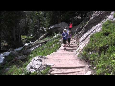 Hiking in Rocky Mountain National Park