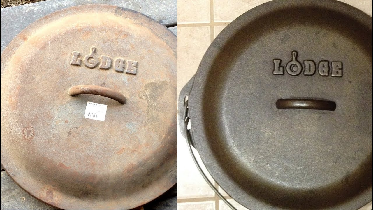 Dissolve Rust Iron Restoring Rusted Cast Iron