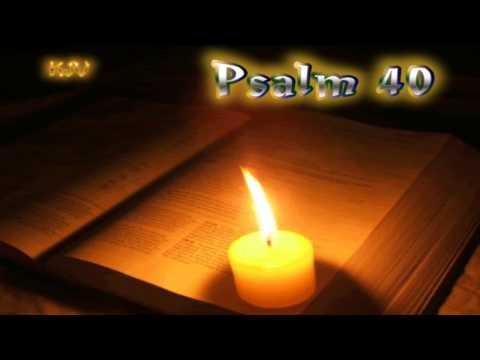 (19) Psalm 40 - Holy Bible (KJV)