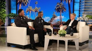 Ellen Meets Viral Singing Cops Michael & Moe