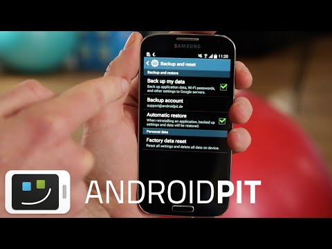 How to factory reset the Samsung Galaxy S4 [TUTORIAL]