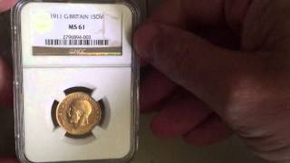 Part 1 - Gold - Latest graded coin unboxing from NGC