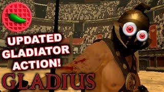 GLADIATOR ACTION + CHARIOT RACING! -- Let's Play Gladius (HTC Vive VR Gameplay)(Steam Gameplay)
