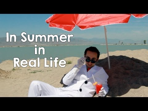 In Summer - Frozen Cover In Real Life