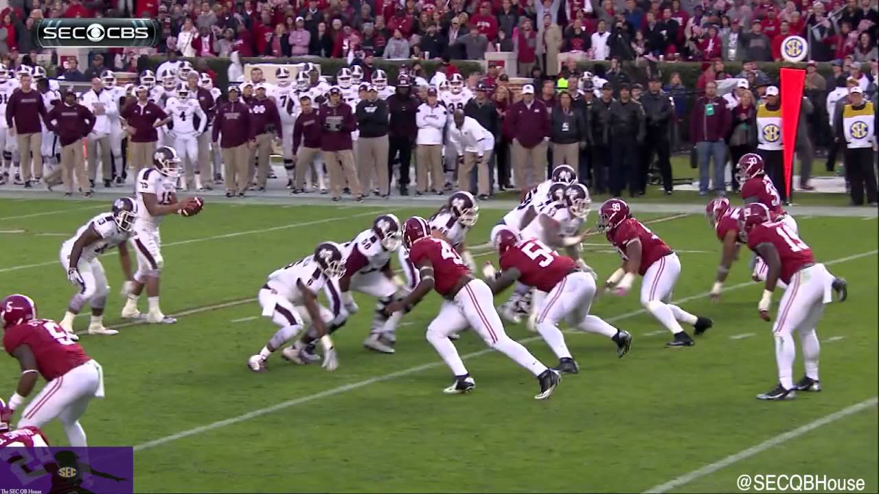Dak Prescott vs Alabama (2014)