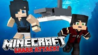 MinecraftCamping-THESHARKATTACK!(MinecraftRoleplay)#1