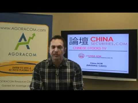 Chinese Small Cap Stock TV - September 29, 2010