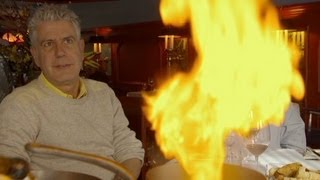 Anthony Bourdain rediscovers old-world dining in Canada
