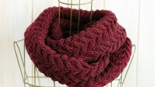 HOW TO KNIT A SCARF 5#