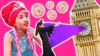 MALICE'S TIME PRANK - Princess Olivia's Tea Party Ruined? - Princesses In Real Life | Kiddyzuzaa