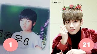 Wonwoo SEVENTEEN Childhood | From 1 To 21 Years Old
