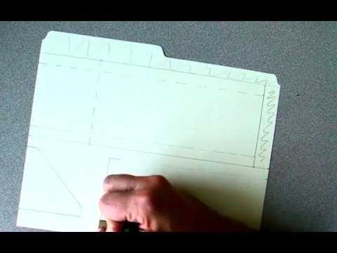 how to make a paper skimmer