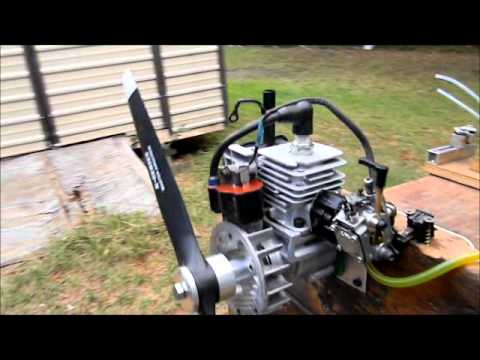 WeedEater RC engine running Mike!