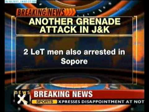 Another grenade attack in J&K, 5 injured