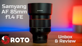 Samyang AF 85mm f1.4 FE Review - Real world wedding photography and video - Sony A7iii
