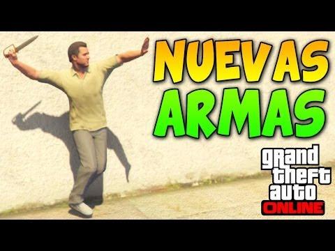 ¡¡Nueva Pistola y Cuchillo!! - GTA 5 Online 1.14 - DLC Hipster Update - Actualización 1.14
