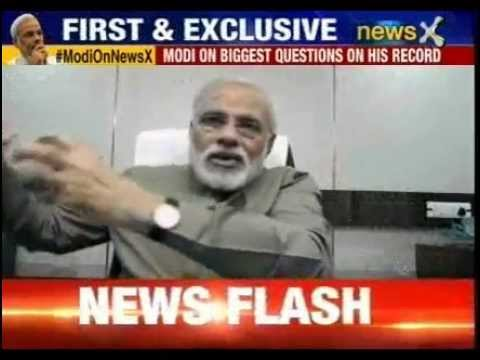 Narendra Modi biggest interview: Modi's historic revelations