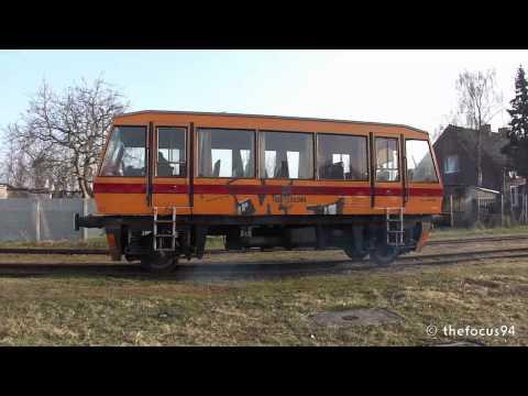 Drezyna Kolzam MS-29-02-7629 Na Szprotawce W Zielonej Górze.