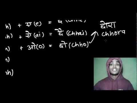 Reading & Writing Hindi Lesson 12 - Barakhadi 6 - Chha, Chhaa, Chhi, Chhee