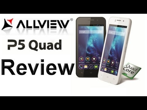 Allview P5 Quad Review