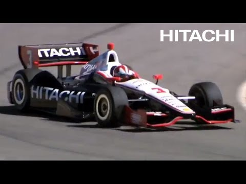 Helio and Hitachi would like your support for the racing season. He and Hitachi have teamed to get you great gear after the race. To get more information, check it out online: www.hitachi.us