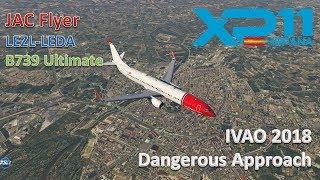LEZL-LEDA | B739 Ultimate | X-Plane 11 | Six Airports Tour | Probamos el fantástico modelo 900