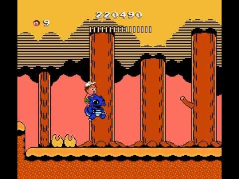 Adventure Island 2 - Adventure Island 2 Part 7 (NES) - User video