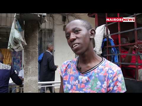 NN Hustle: A student who pays his school fees from shoe shining
