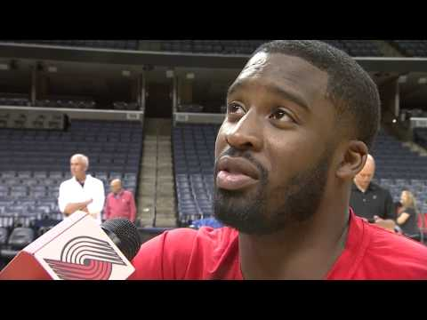Wesley Matthews Gives Emotional Interview