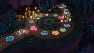 Mario Party 10 Mario Party #242 Donkey Kong vs Rosalina vs Wario vs Mario Haunted Trail Master