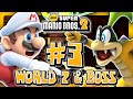 New Super Mario Bros 2 3DS - World 2 (2/2) (2 Player) 100%