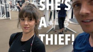 SHE'S A THIEF!!