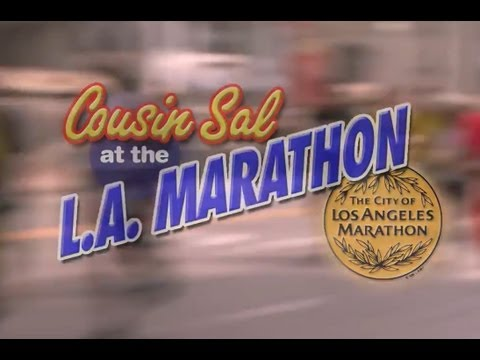 Cousin Sal at the 2013 LA Marathon