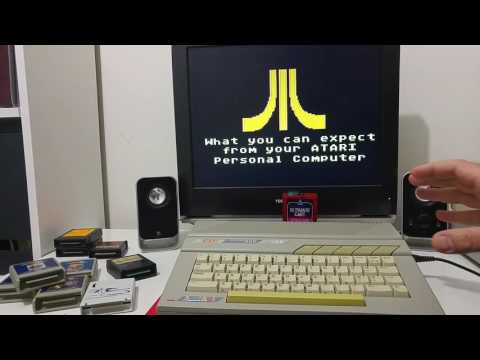 Demonstrations of the Atari XE with the Rapidus accelerator